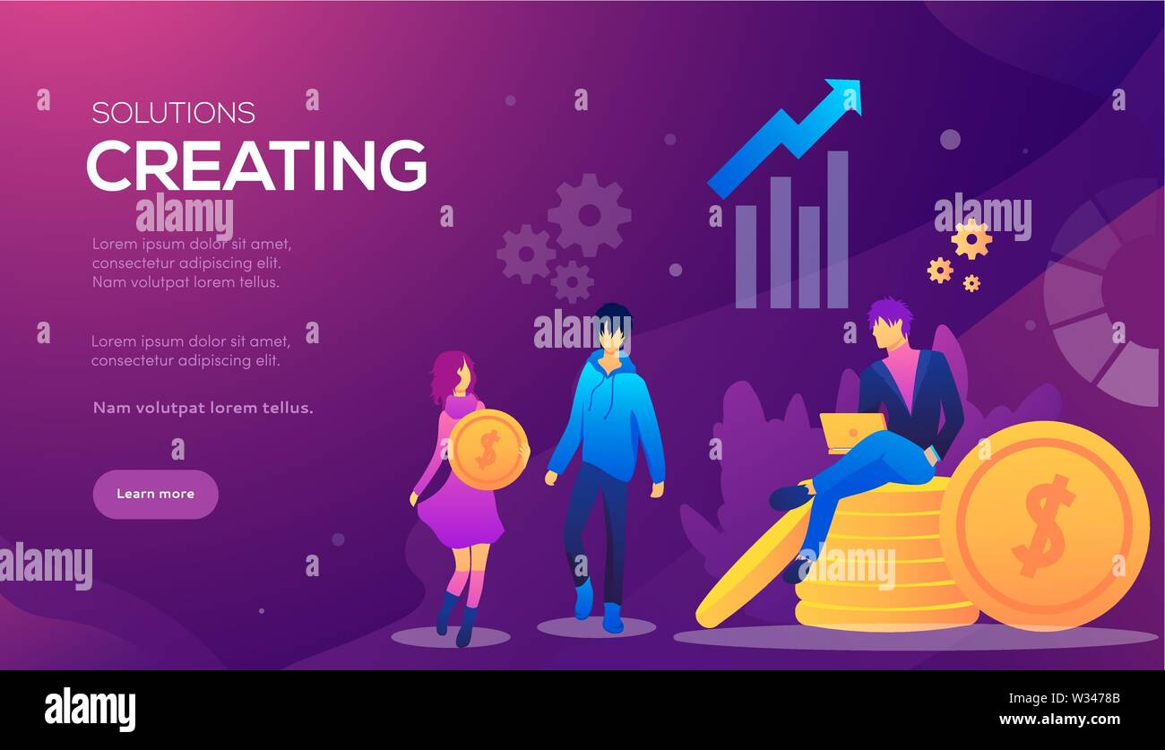 Web Page For Distance Education E Learning Online Courses Tutorials Web Page Vector Illustration Design Templates Edit And Customize Modern Conce Stock Vector Image Art Alamy