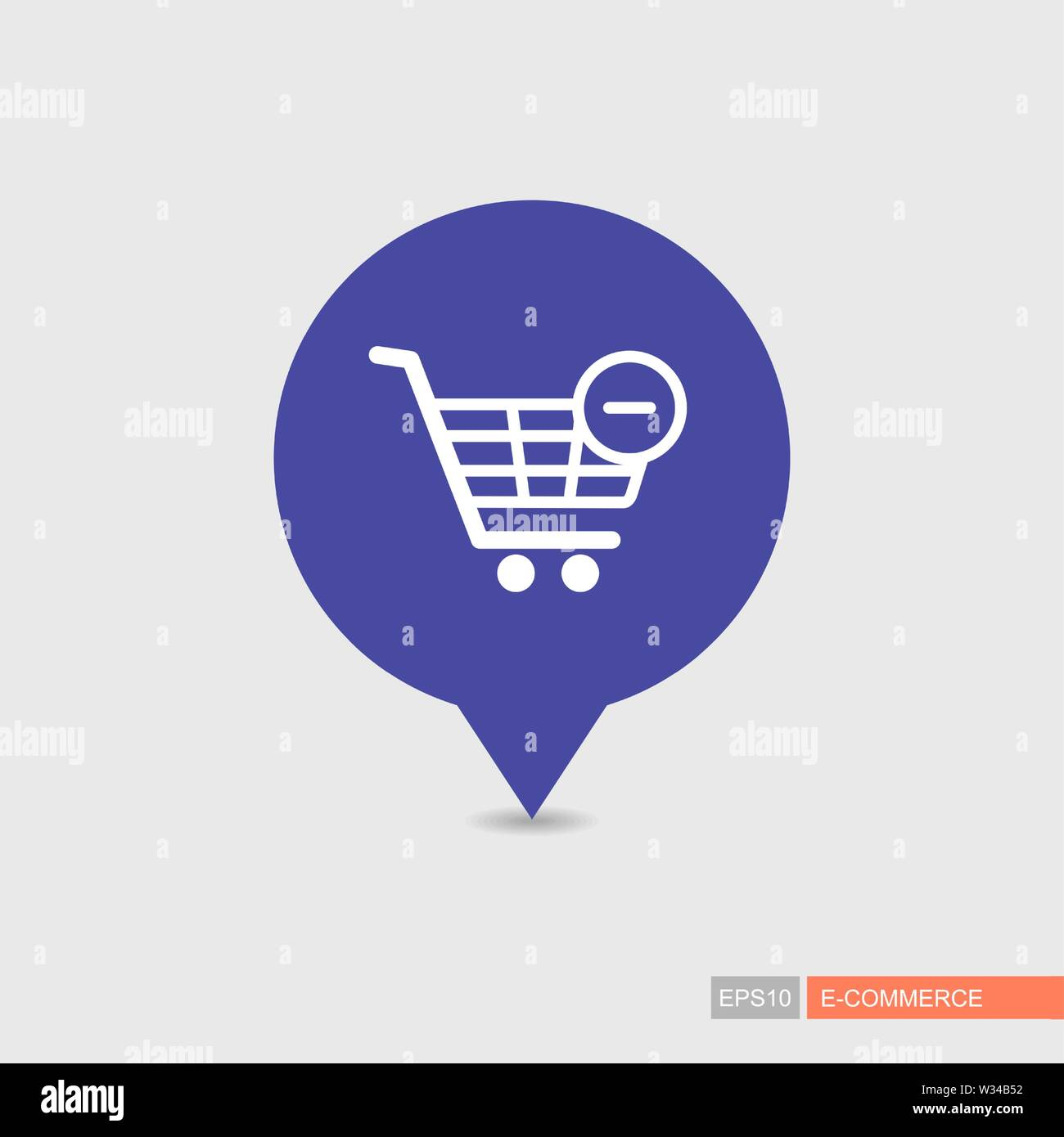 Shopping cart pin map icon with minus. Remove from cart. E ... on mod symbols, power symbols, crane symbols, sport symbols, baltimore symbols, cd symbols, race symbols, state symbols, real symbols, cook symbols,