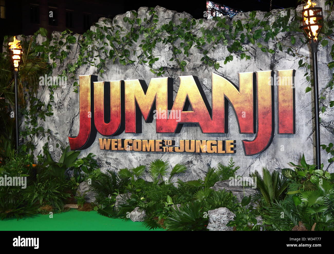 Jumanji Welcome To The Jungle Premiere Stock Photos
