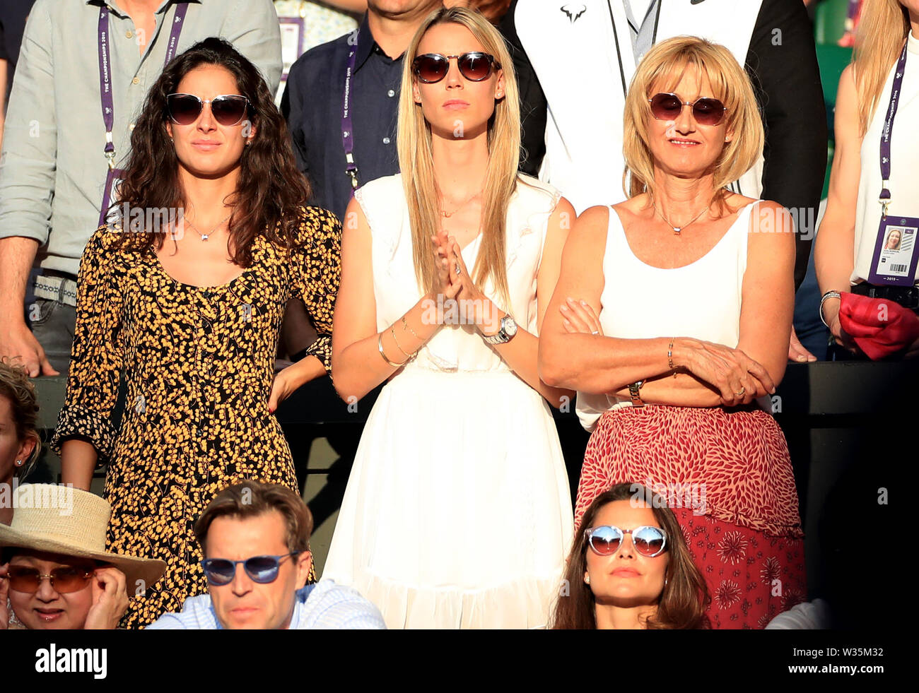 Rafael Nadal And Girlfriend High Resolution Stock Photography And Images Alamy