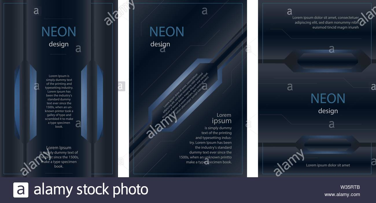 Neon Brochure Stock Photos & Neon Brochure Stock Images - Alamy