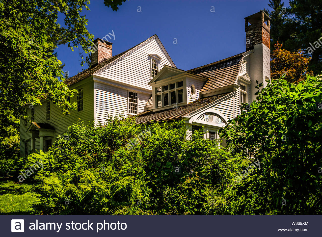 Oliver Wolcott House Litchfield Historic District _ Litchfield, Connecticut, USA - Stock Image