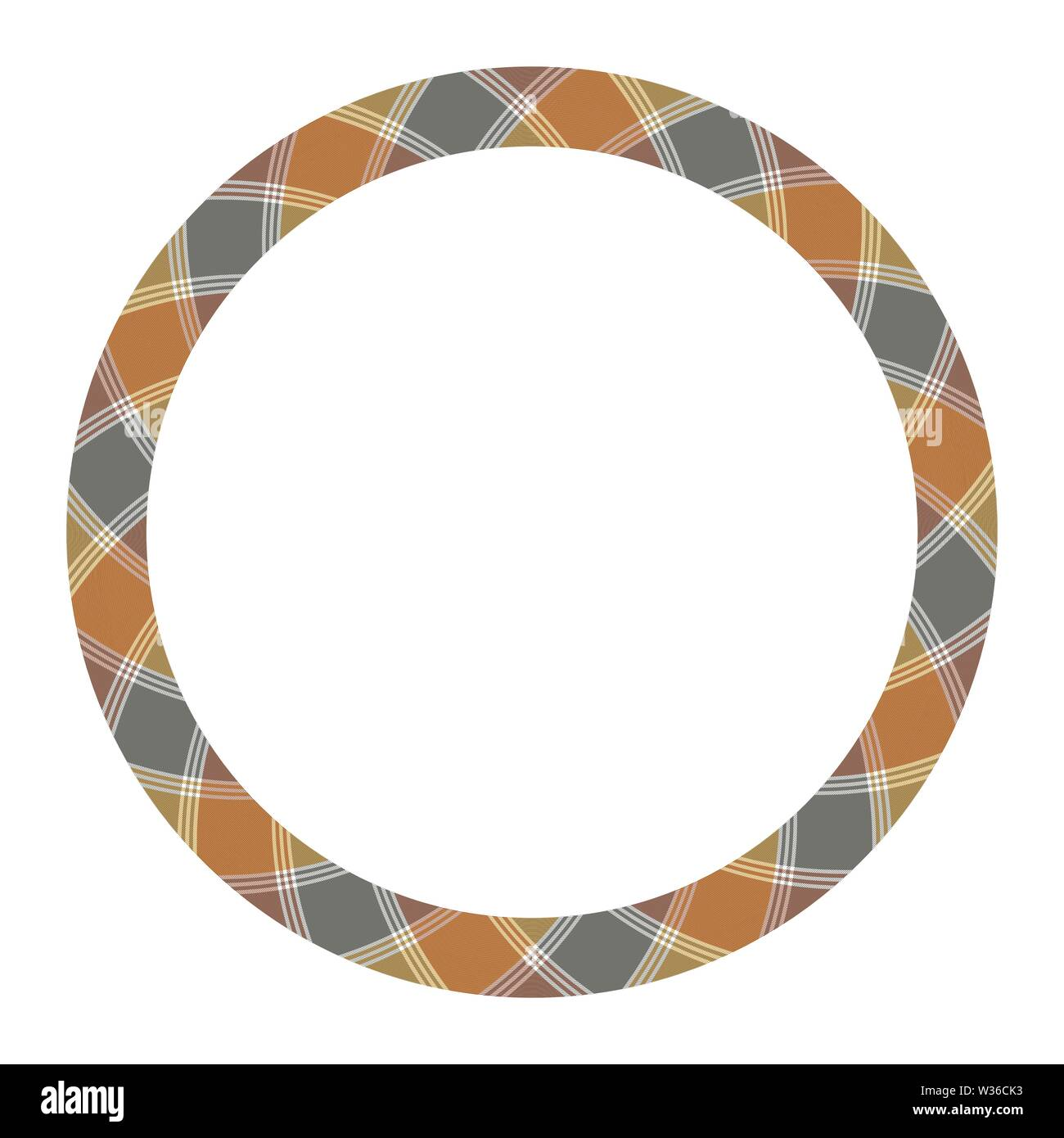 Circle borders and frames vector  Round border pattern