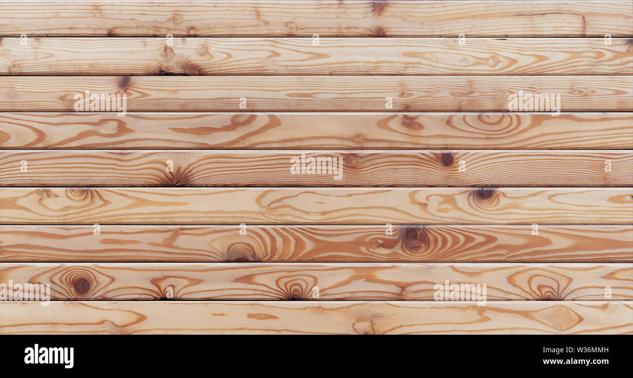 Wood texture background, natural wood plank surface - Stock Image