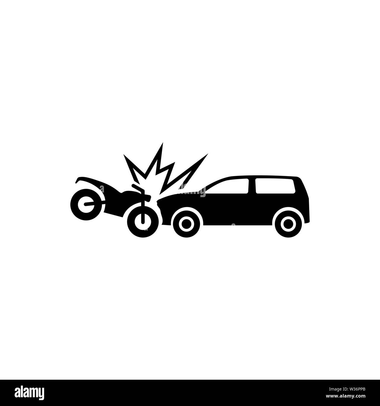 Car Crash Black and White Stock Photos & Images - Alamy