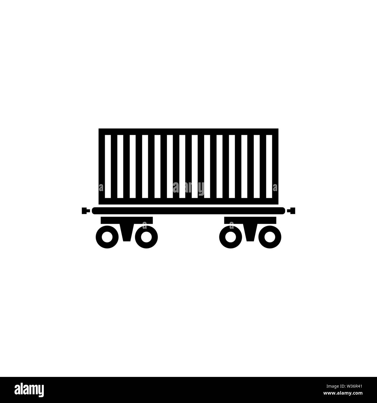Rail Car Black and White Stock Photos & Images - Alamy
