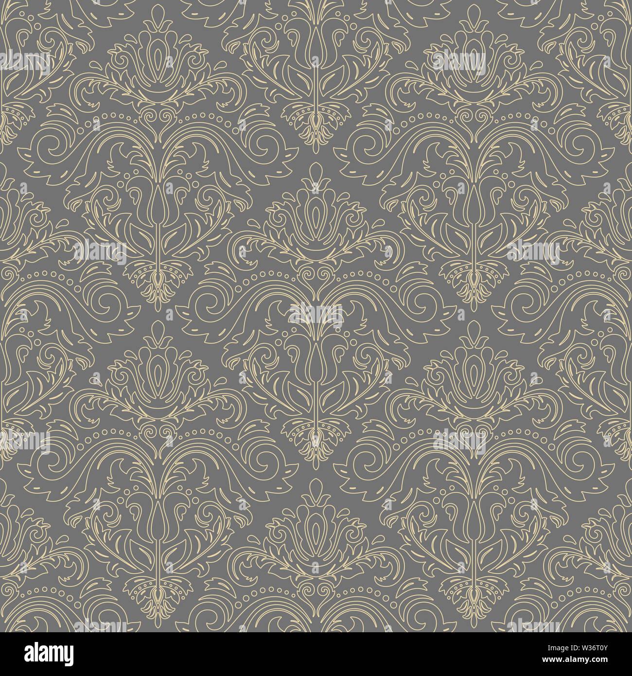 Classic Seamless Pattern - Stock Image