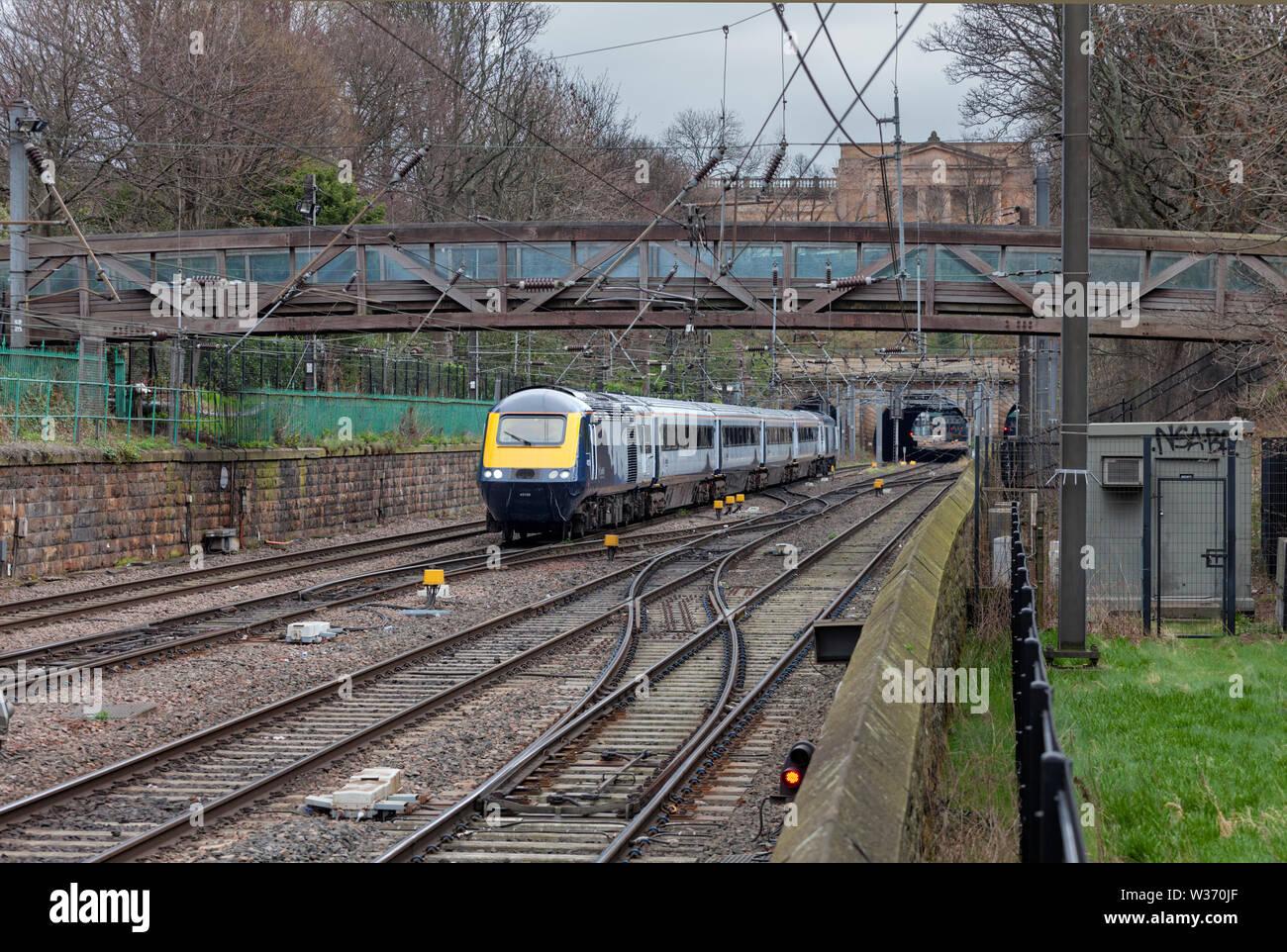 Intercity Train Scotrail Stock Photos Intercity Train