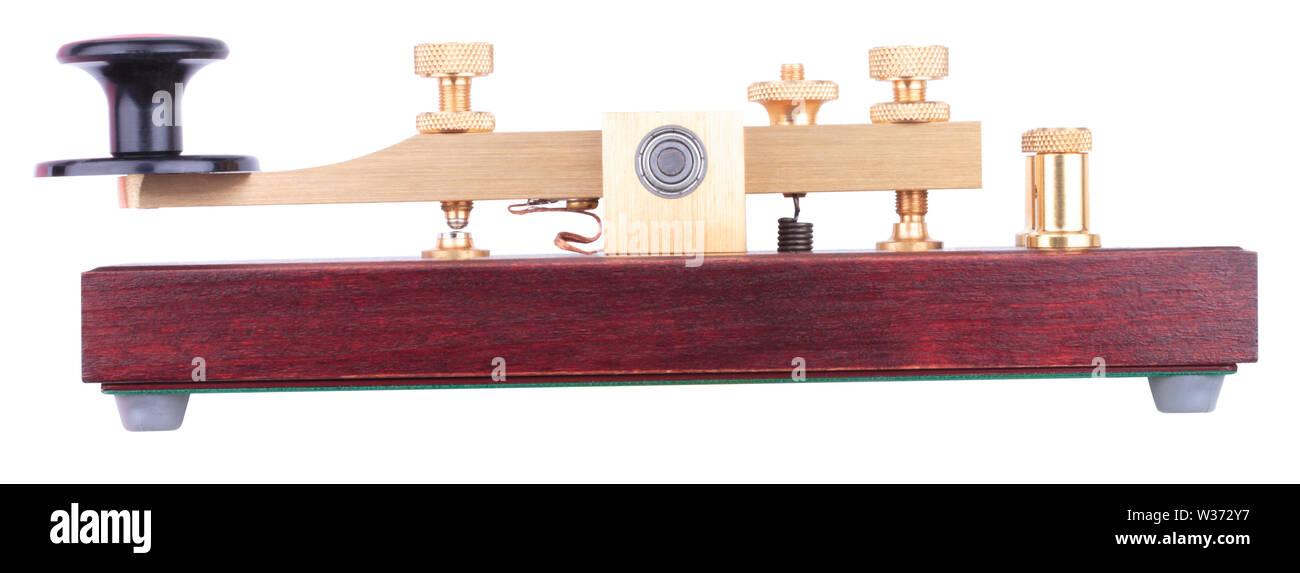 Morse Key Isolated - Stock Image
