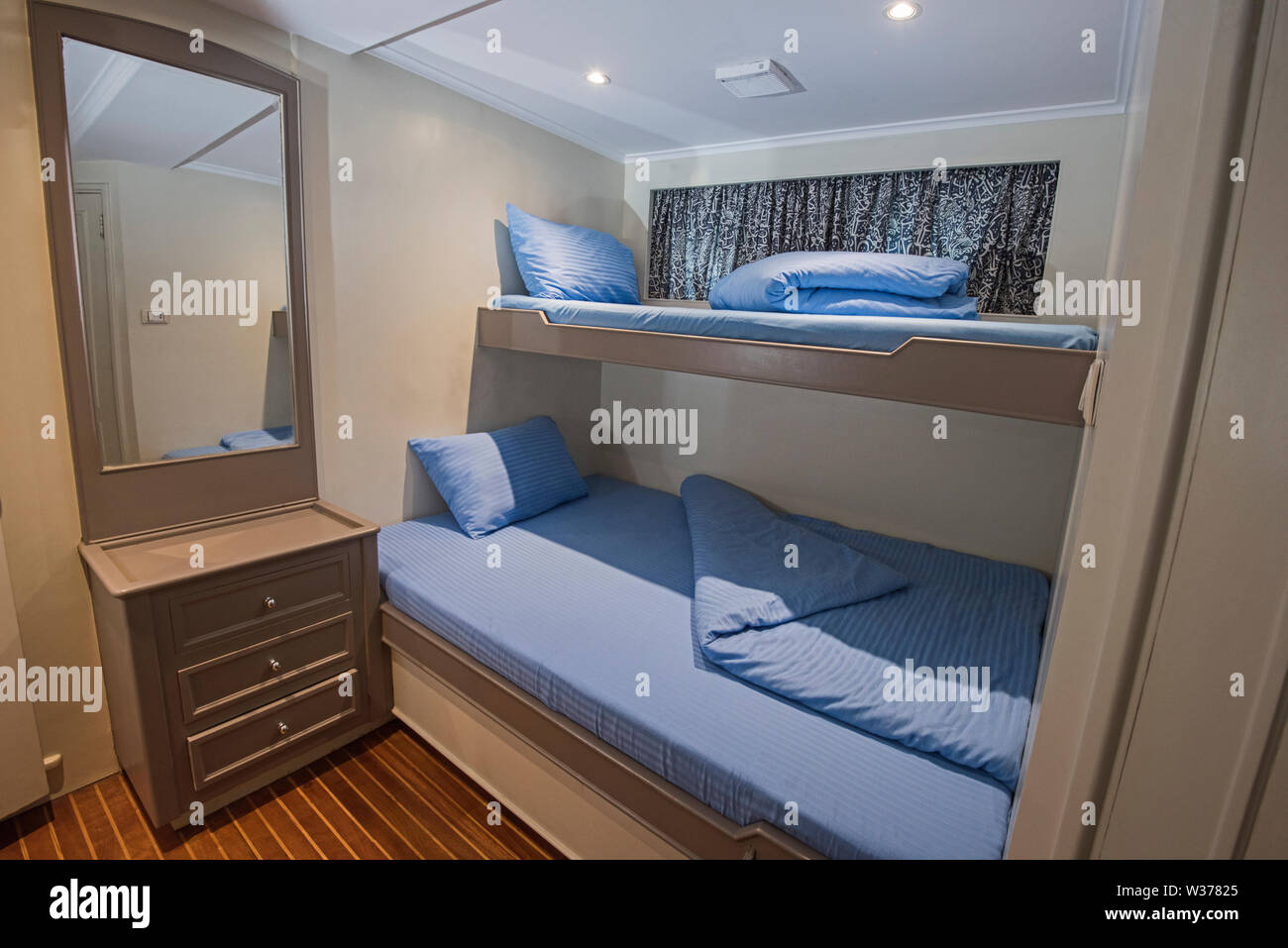 Bedroom Interior With Double Bunk Beds High Resolution Stock Photography And Images Alamy