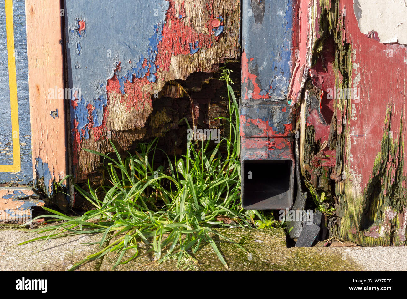 Street life, Hartlepool Stock Photo