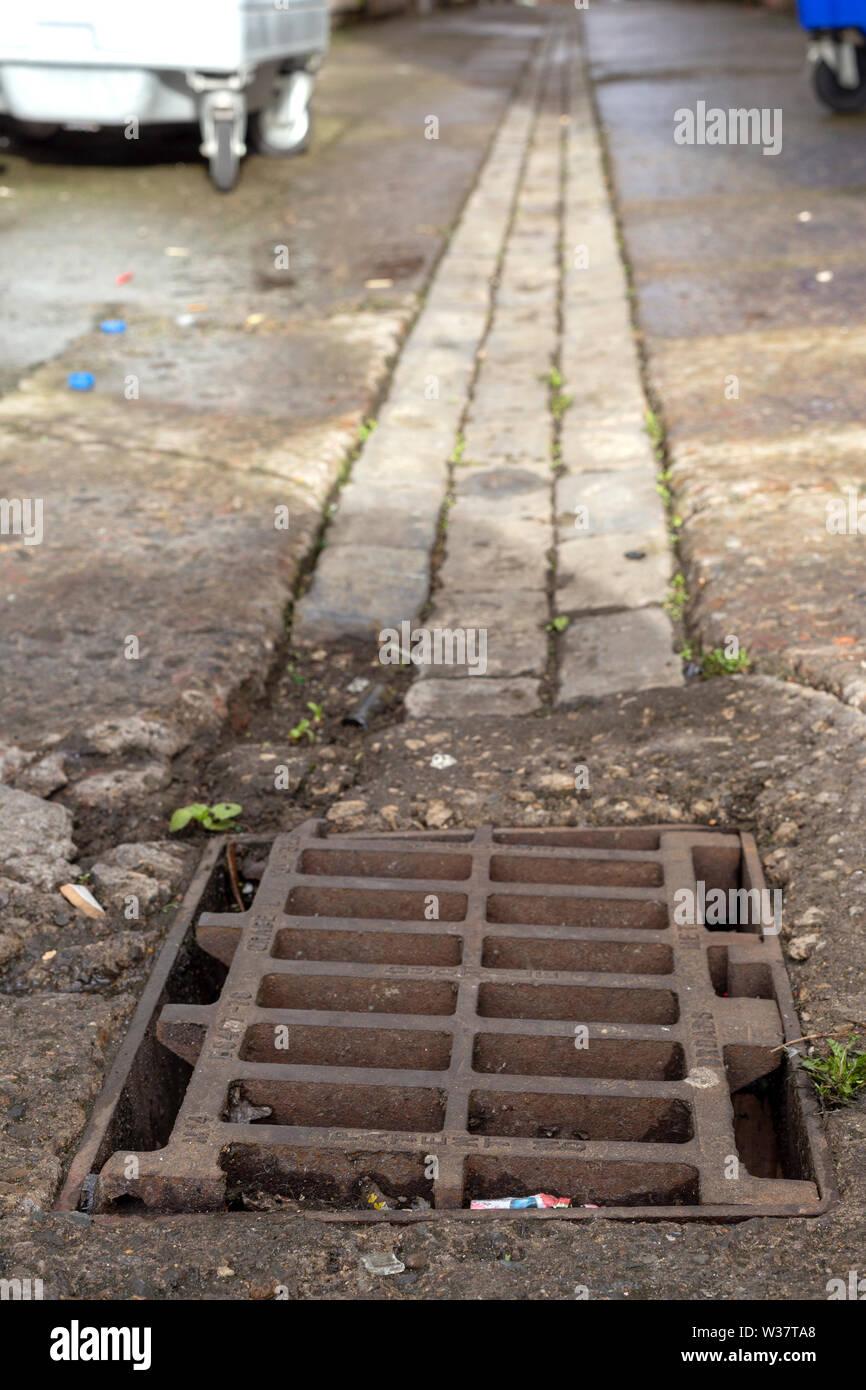 Street life, Hartlepool.  UK Stock Photo