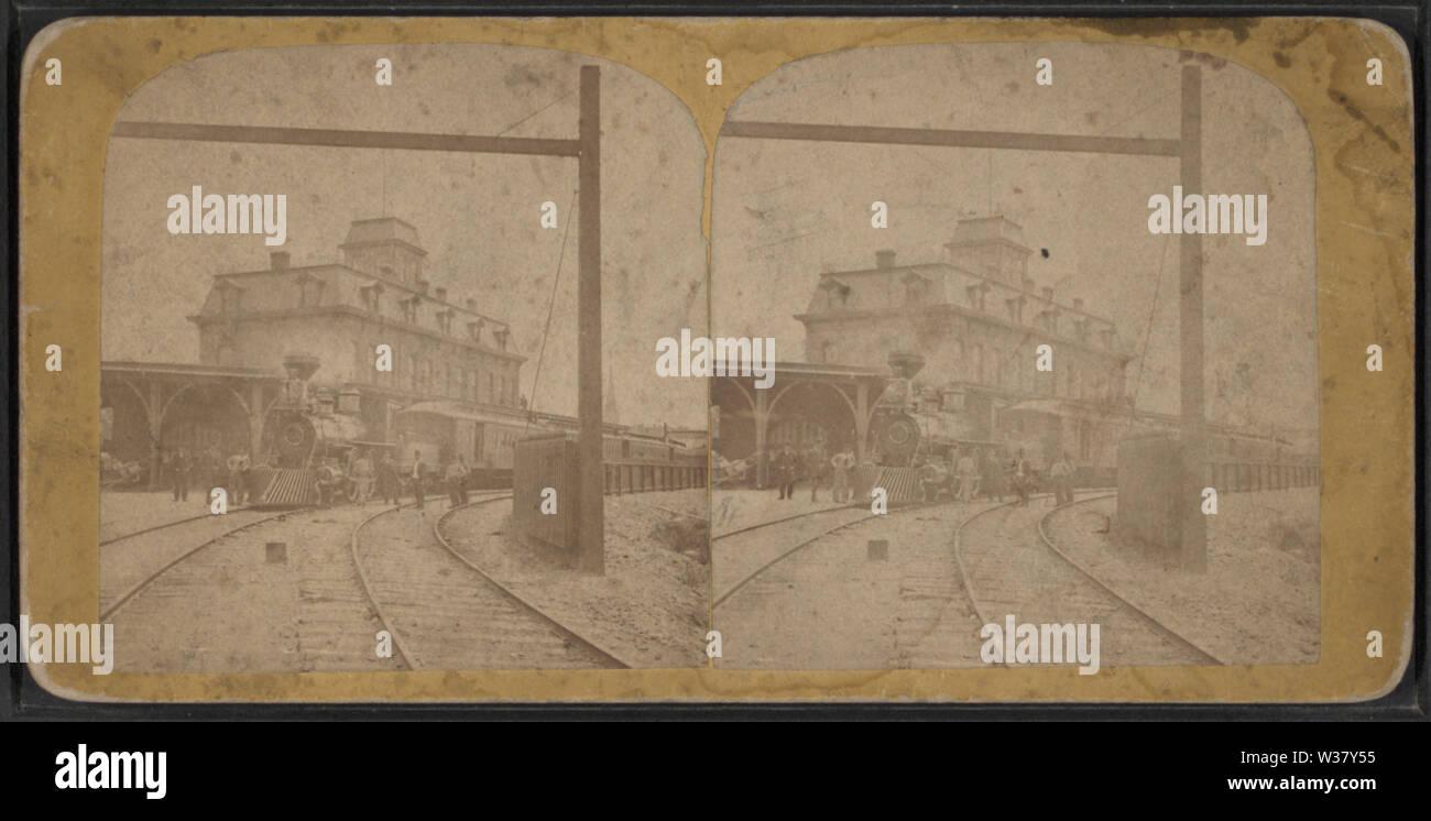 Train station, Syracuse, New York, by Judd, M E (Myron E