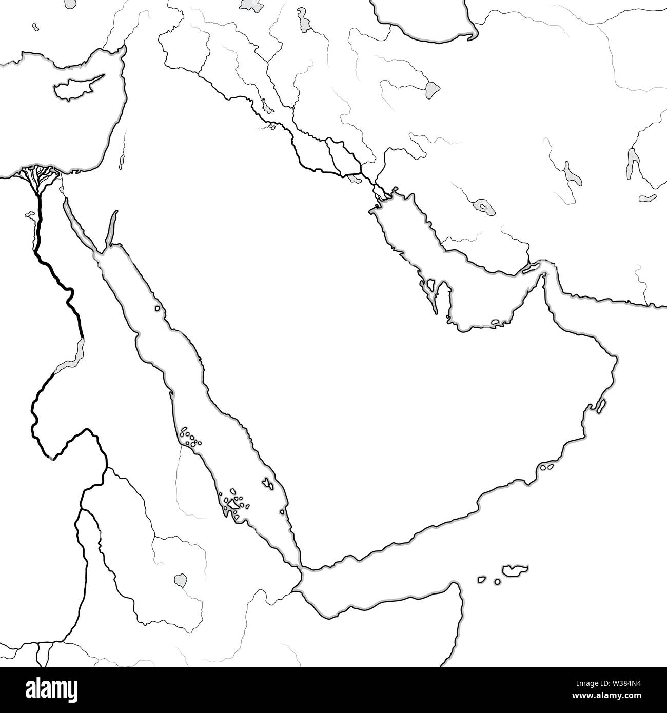 Arab World Map Stock Photos & Arab World Map Stock Images - Alamy on world map in oman, world map in kuwait, world map in bahrain,
