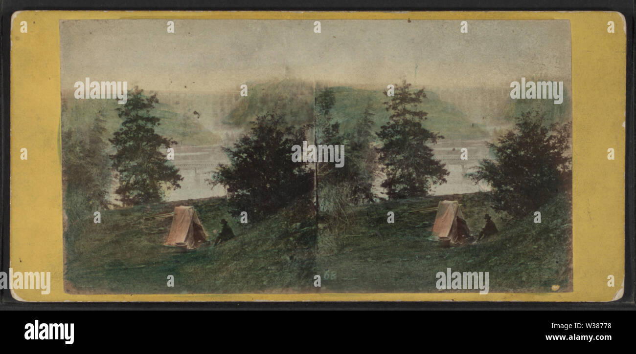 View at Portage, by E & HT Anthony (Firm) - Stock Image