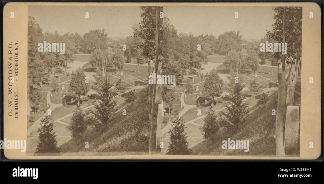 View from Oak Avenue, by Woodward, C W (Charles Warren) - Stock Image