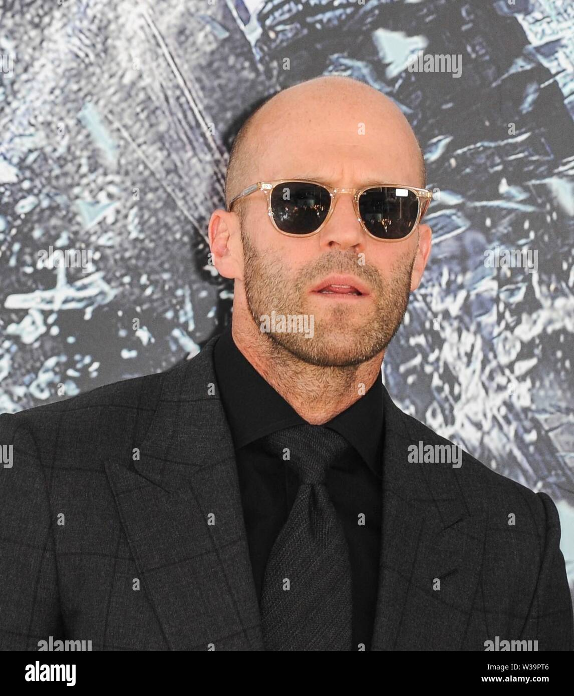 Los Angeles, CA, USA. 13th July, 2019. Jason Statham at arrivals for FAST & FURIOUS PRESENTS: HOBBS & SHAW Premiere, The Dolby Theatre at Hollywood and Highland Center, Los Angeles, CA July 13, 2019. Credit: Elizabeth Goodenough/Everett Collection/Alamy Live News Stock Photo