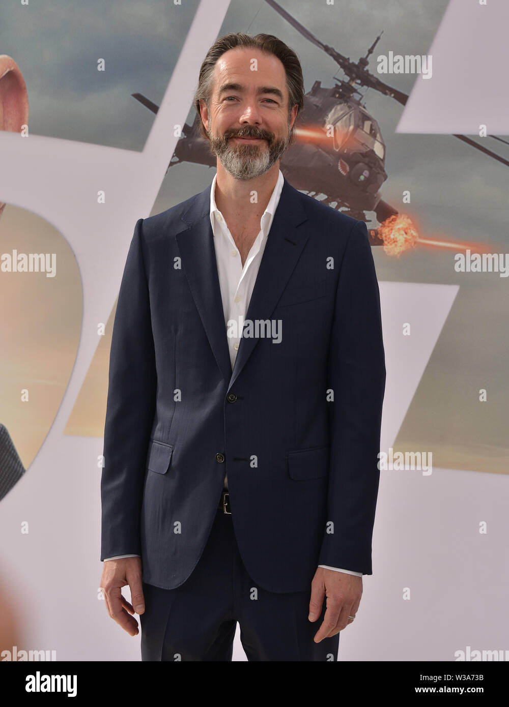 """Los Angeles, USA. 13th July, 2019. Chris Morgan arrives at the Premiere Of Universal Pictures' """"Fast & Furious Presents Hobbs & Shaw"""" at Dolby Theatre on July 13, 2019 in Hollywood, California Credit: Tsuni/USA/Alamy Live News Stock Photo"""
