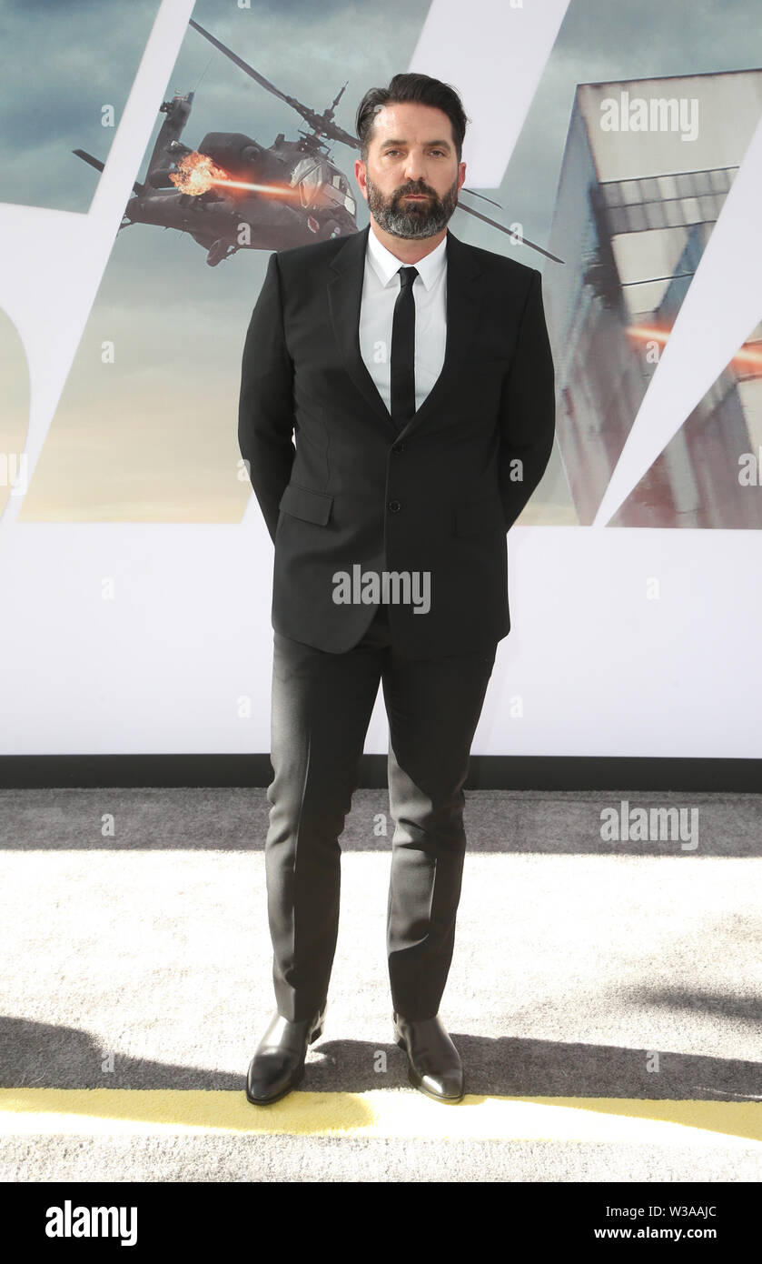July 13, 2019 - Hollywood, CA, USA - 13 July 2019 - Hollywood, California - Drew Pearce. Premiere Of Universal Pictures' ''Fast & Furious Presents: Hobbs & Shaw'' held at Dolby Theatre. Photo Credit: Faye Sadou/AdMedia (Credit Image: © Faye Sadou/AdMedia via ZUMA Wire) - Stock Image