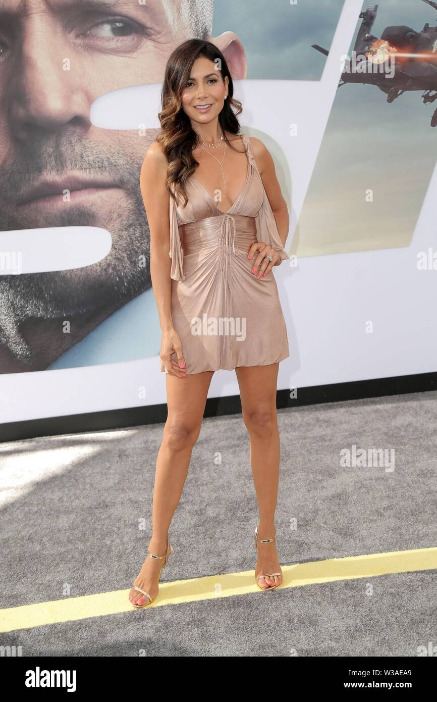Los Angeles, CA, USA. 13th July, 2019. Patricia Manterola at arrivals for FAST & FURIOUS PRESENTS: HOBBS & SHAW Premiere, The Dolby Theatre at Hollywood and Highland Center, Los Angeles, CA July 13, 2019. Credit: Priscilla Grant/Everett Collection/Alamy Live News Stock Photo
