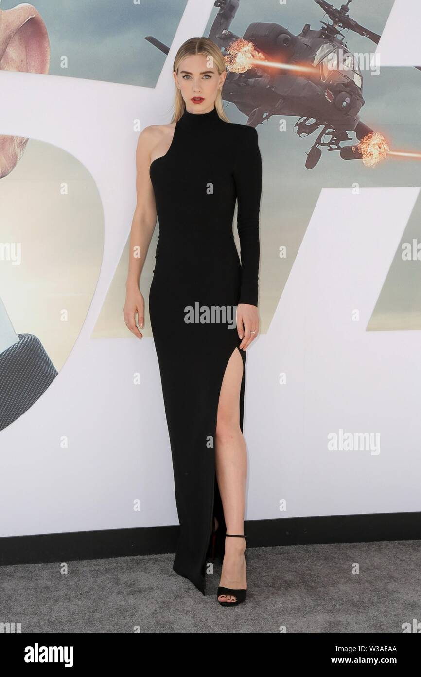 Los Angeles, CA, USA. 13th July, 2019. Vanessa Kirby at arrivals for FAST & FURIOUS PRESENTS: HOBBS & SHAW Premiere, The Dolby Theatre at Hollywood and Highland Center, Los Angeles, CA July 13, 2019. Credit: Priscilla Grant/Everett Collection/Alamy Live News Stock Photo