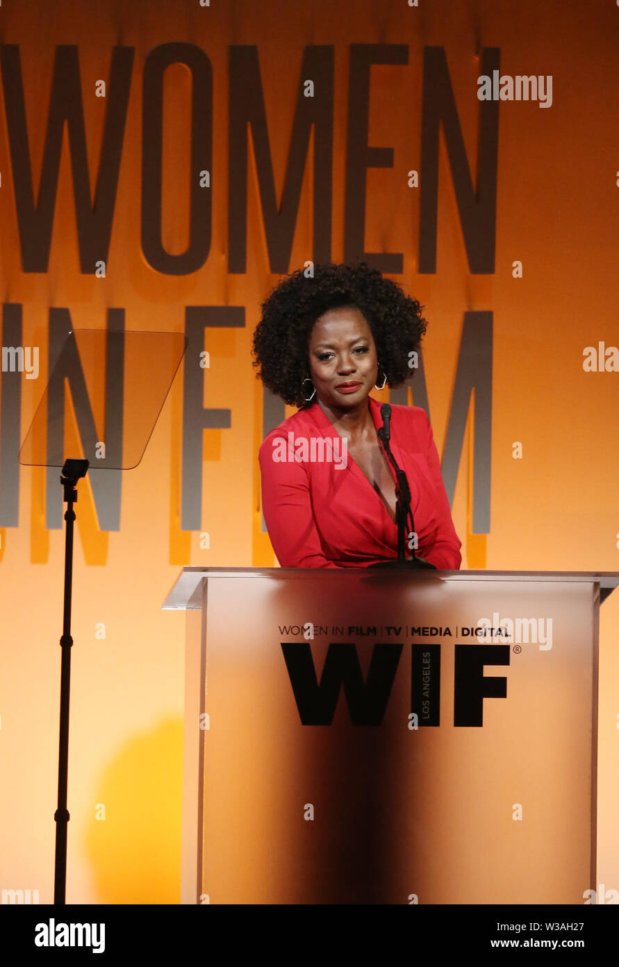 Women In Film Annual Gala 2019 Presented By Max Mara_Show Featuring: Viola Davis Where: Beverly Hills, California, United States When: 12 Jun 2019 Credit: FayesVision/WENN.com - Stock Image
