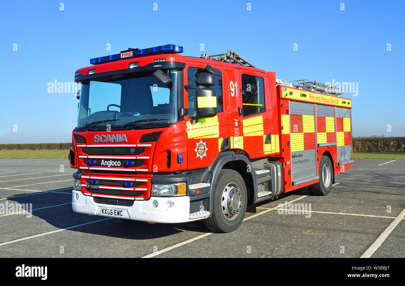 Scania Fire Engine Stock Photos & Scania Fire Engine Stock
