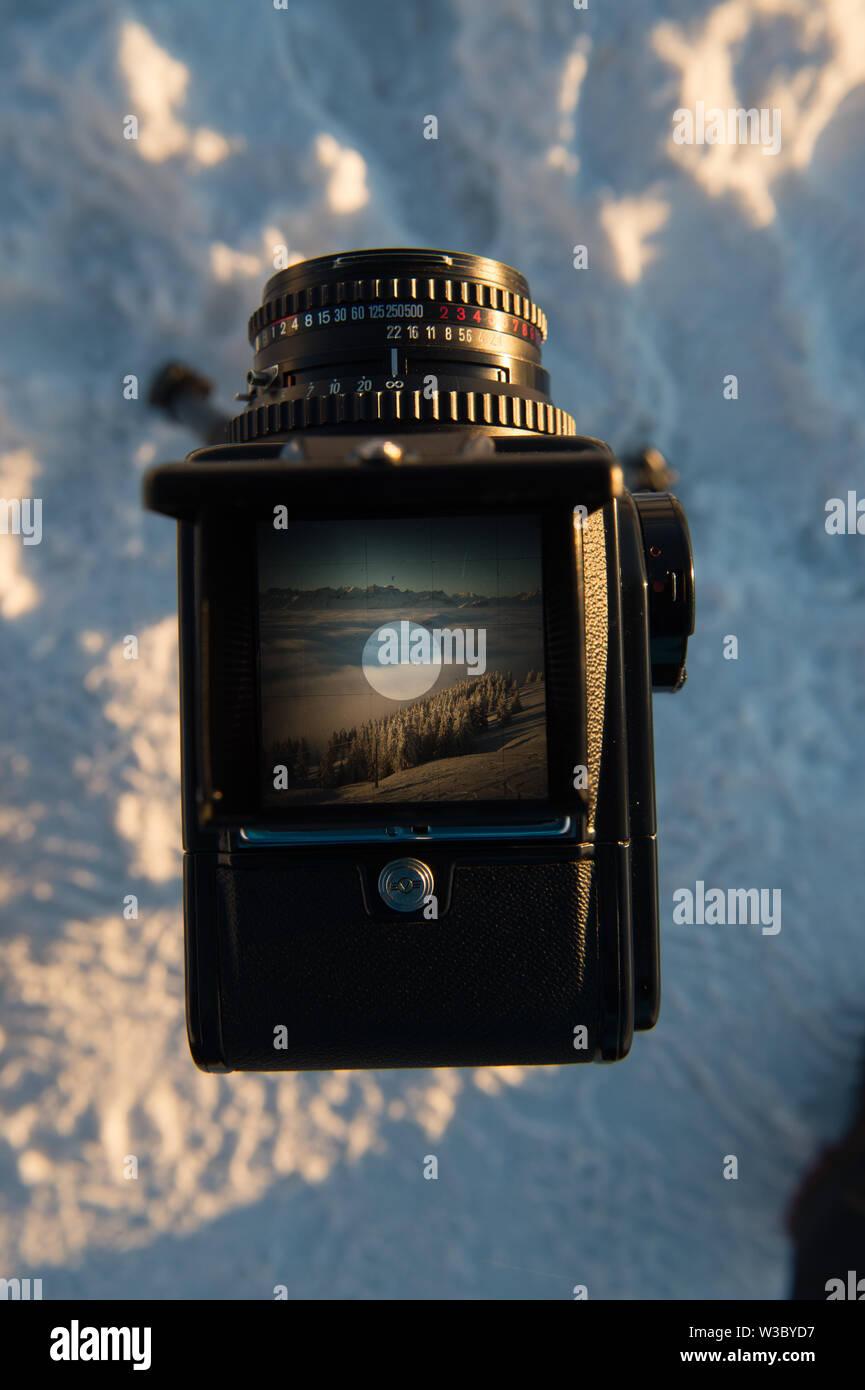 I still shoot film - Stock Image
