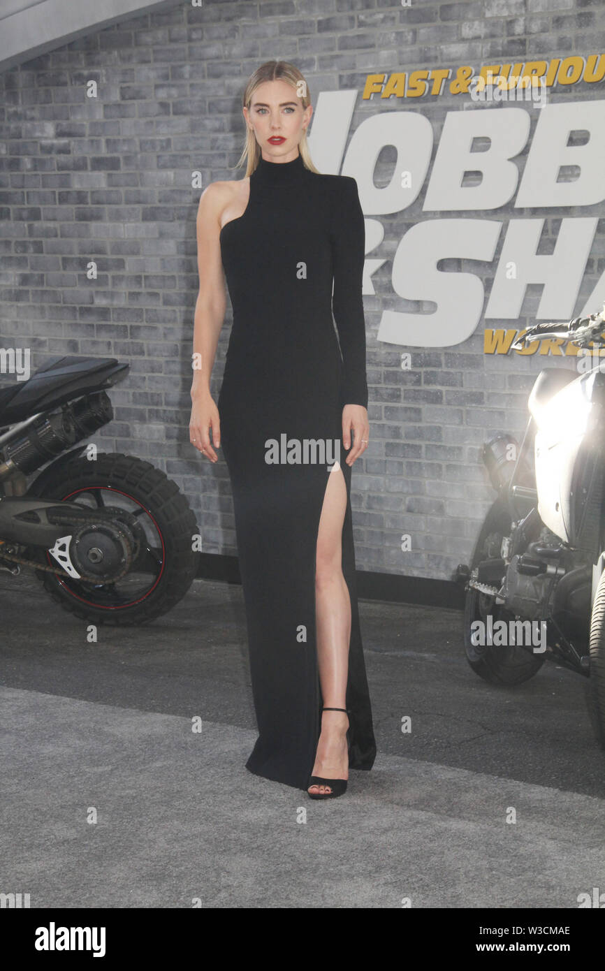 """Los Angeles, USA. 13th July, 2019. Vanessa Kirby  07/13/2019 The world premiere of """"Fast & Furious Presents: Hobbs & Shaw"""" held at the Dolby Theatre in Los Angeles, CA   Credit: Cronos/Alamy Live News Stock Photo"""