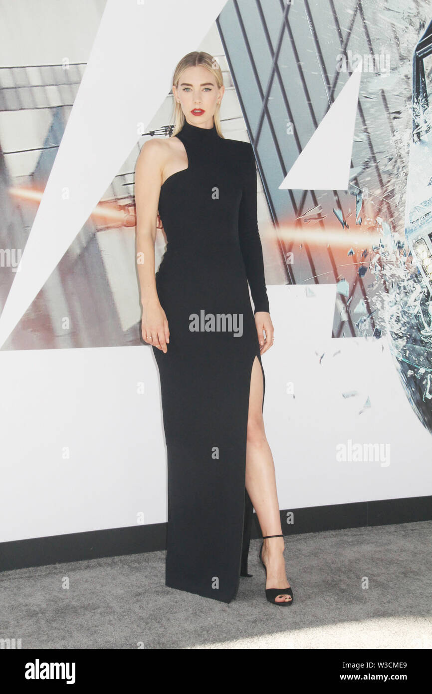 Los Angeles, USA. 13th July, 2019. Vanessa Kirby 07/13/2019 The world premiere of 'Fast & Furious Presents: Hobbs & Shaw' held at the Dolby Theatre in Los Angeles, CA Credit: Cronos/Alamy Live News - Stock Image