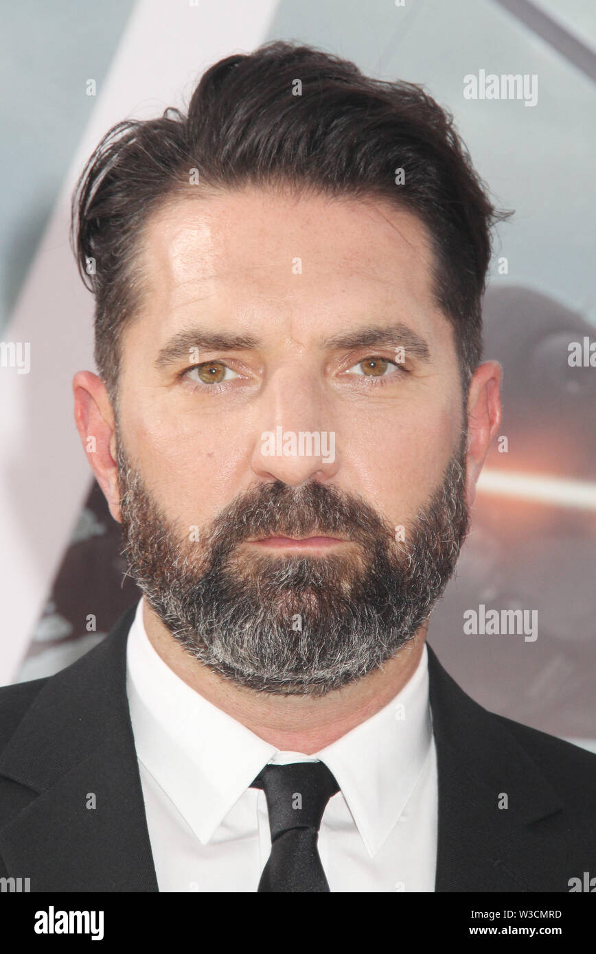 Los Angeles, USA. 13th July, 2019. Drew Pearce 07/13/2019 The world premiere of 'Fast & Furious Presents: Hobbs & Shaw' held at the Dolby Theatre in Los Angeles, CA Credit: Cronos/Alamy Live News - Stock Image