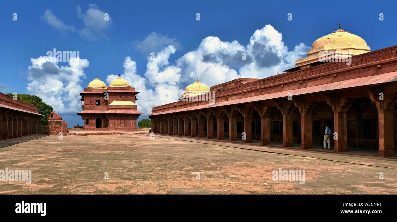 Fatehpur Sikri - former capital of Mughal Empire - Stock Image