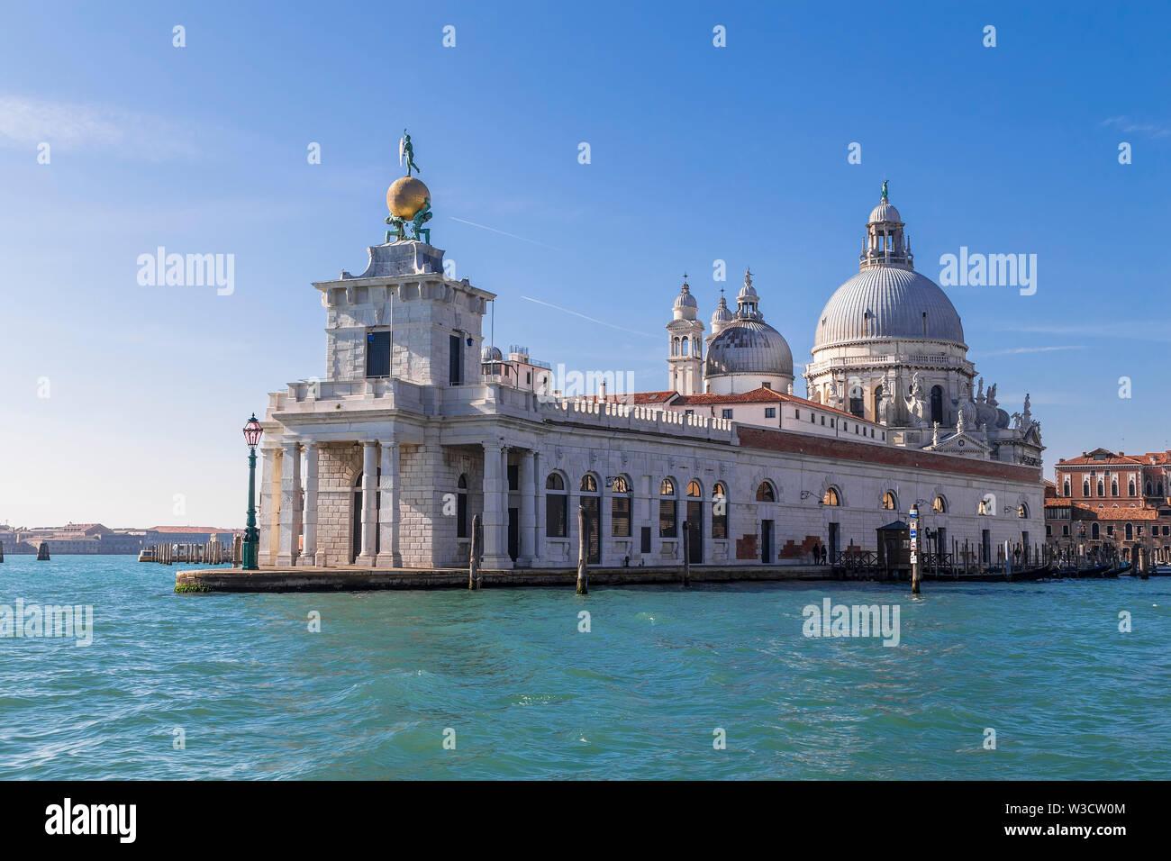 Punta della Dogana. Venice. Italy - Stock Image