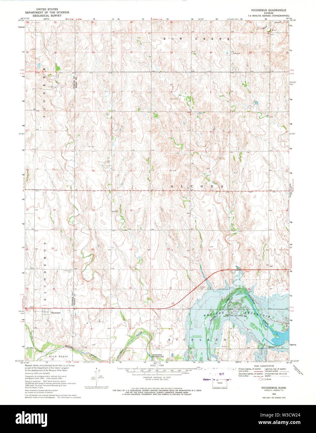 USGS TOPO Map Kansas KS Nicodemus 512113 1969 24000 ... Map Of Lawrence Ks on lawrence ks tourist attractions, lawrence ks zip code, lawrence ks carpet,