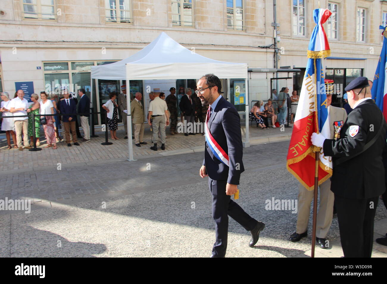 Celebration of National  military festival on July 14 th 2019 in Niort Stock Photo