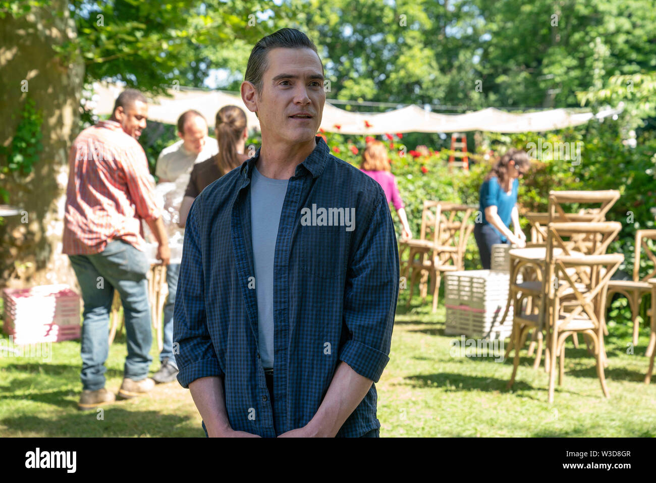 RELEASE DATE: August 9, 2019 TITLE: After The Wedding STUDIO: Sony Pictures DIRECTOR: Bart Freundlich PLOT: A manager of an orphanage in Kolkata travels to New York to meet a benefactor. STARRING: BILLY CRUDUP as Oscar Carlson. (Credit Image: © Sony Pictures/Entertainment Pictures) Stock Photo
