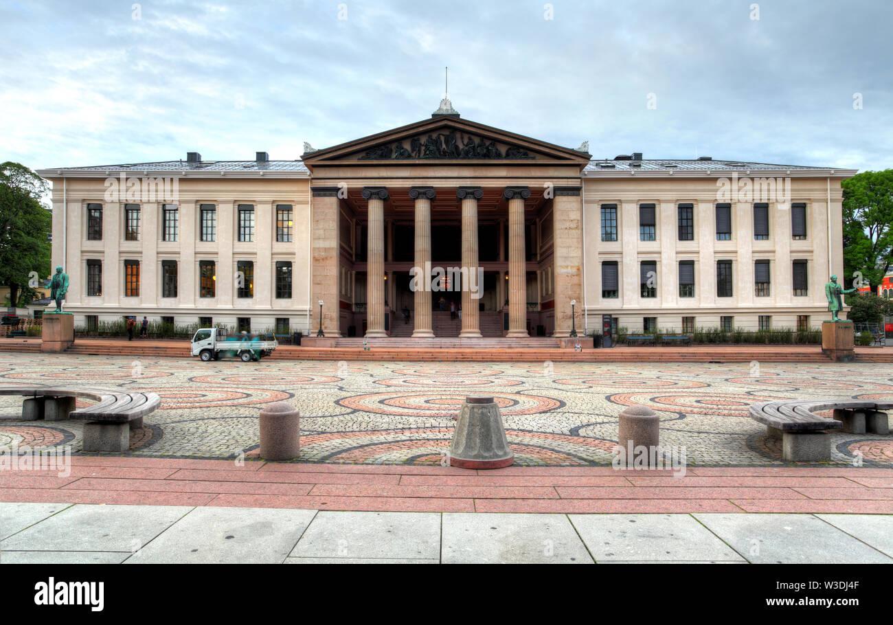 University of Oslo, Norway Stock Photo