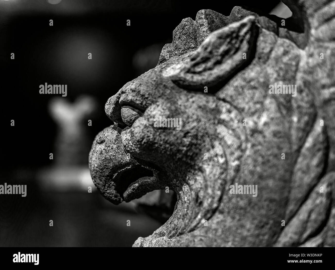 ancient statues from roman period - Stock Image