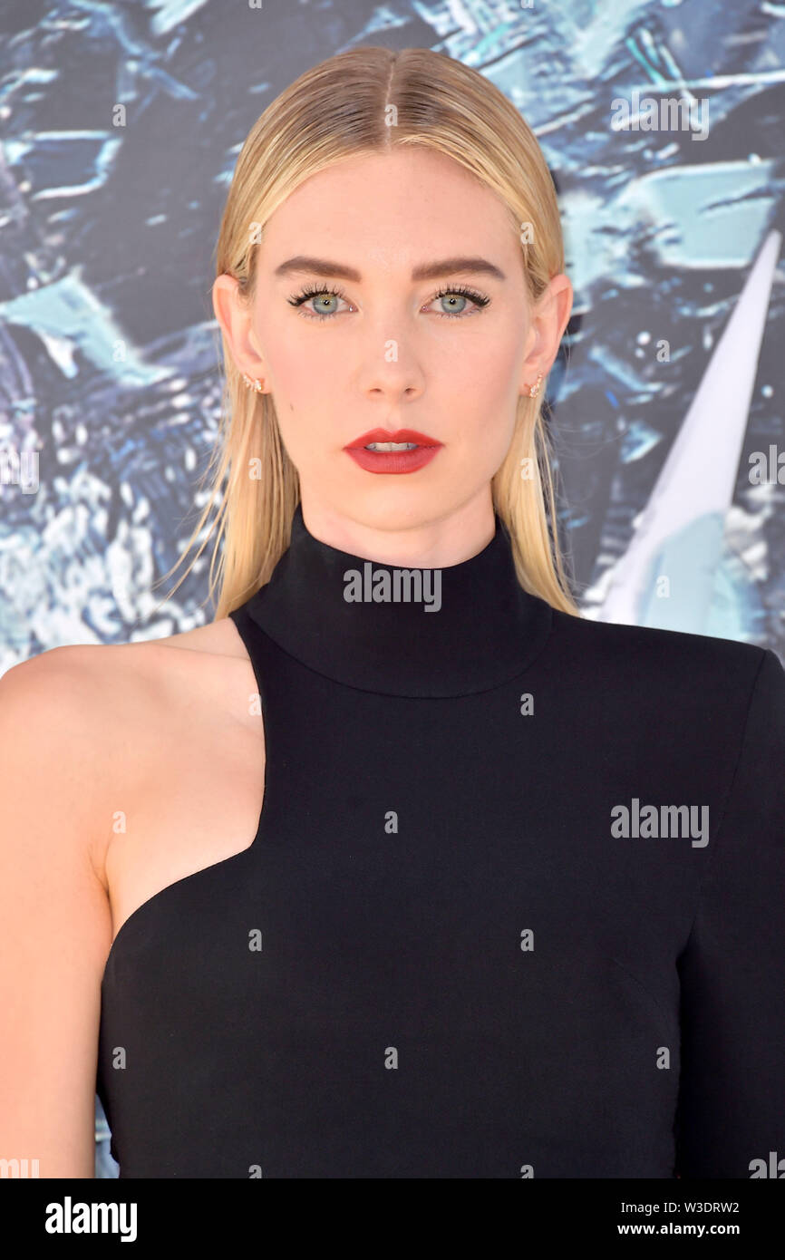 Los Angeles, USA. 13th July, 2019. Vanessa Kirby at the premiere of the movie 'Fast & Furious Presents: Hobbs & Shaw' at the Dolby Theater. Los Angeles, 13.07.2019 | usage worldwide Credit: dpa/Alamy Live News Stock Photo