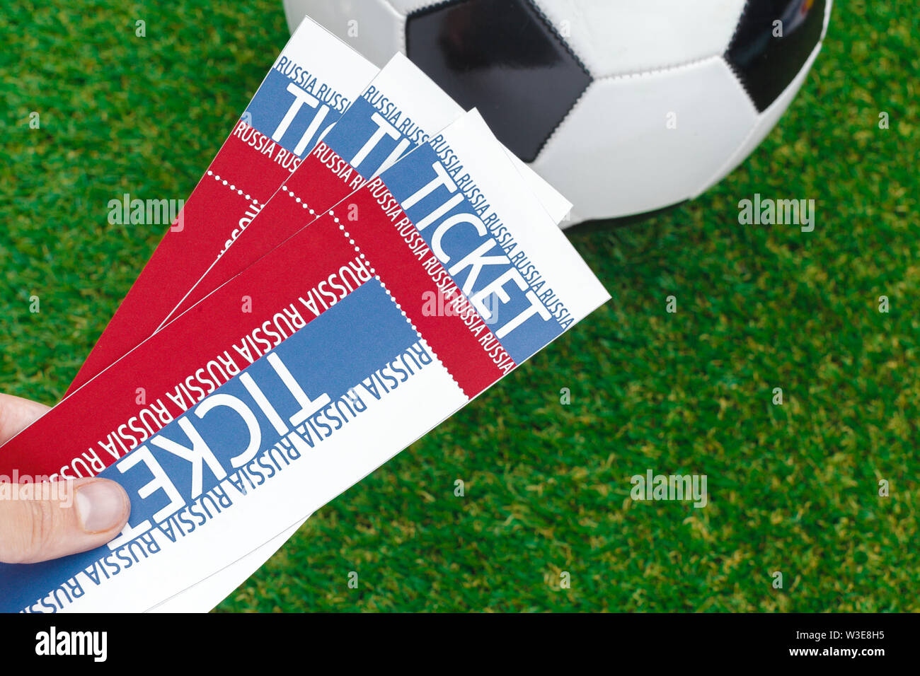 World Cup, Russia 2018 - Stock Image