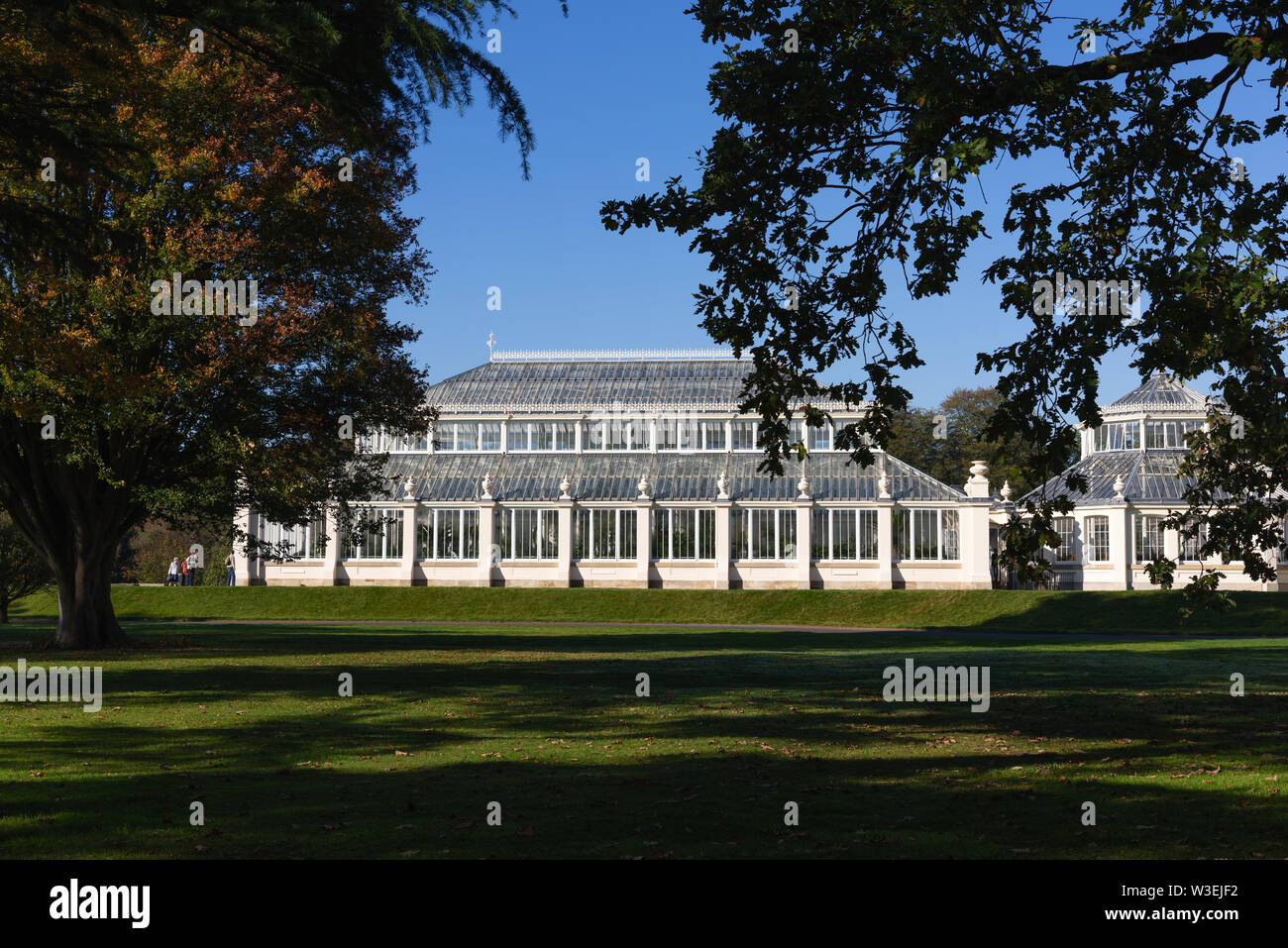 The Temperate House, Kew Gardens, London, UK - Stock Image