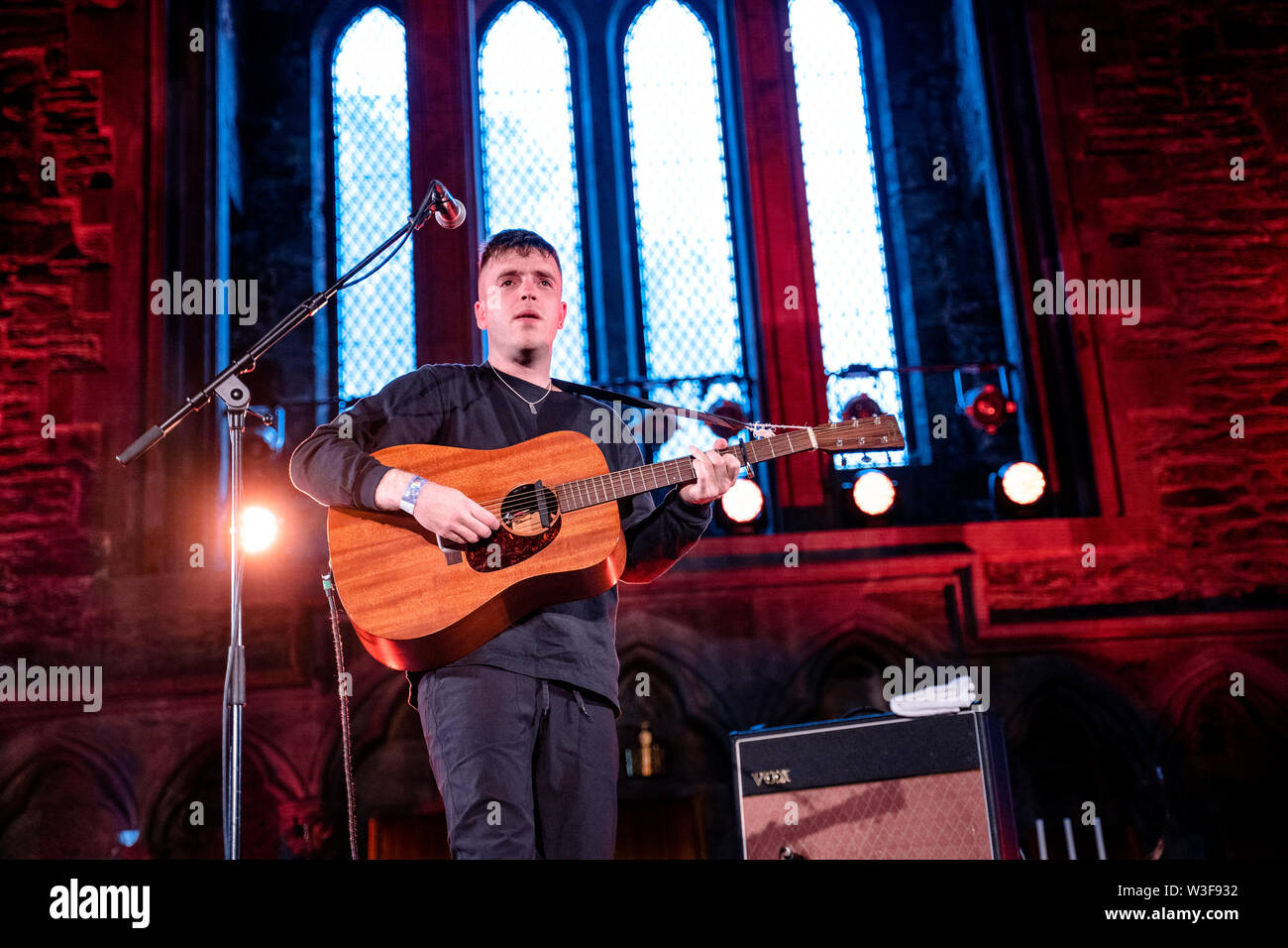 Bergen, Norway - June 15th, 2019. The English singer and songwriter Benjamin Francis Leftwich performs a live concert during the Norwegian music festival Bergenfest 2019 in Bergen. (Photo credit: Gonzales Photo - Jarle H. Moe). - Stock Image