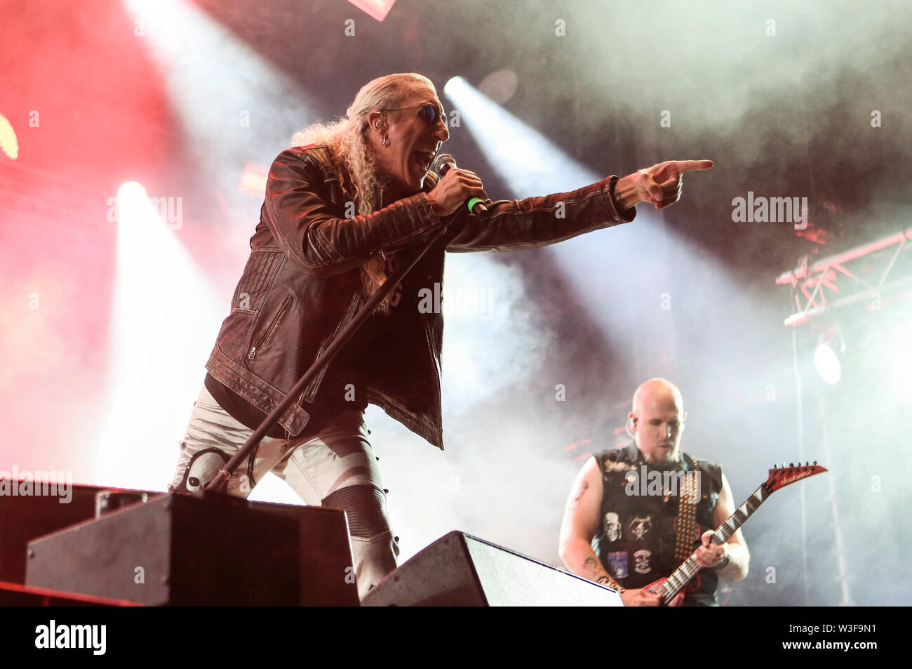 Kvinesdal, Norway - July 13th, 2019. The American vocalist Dee Snider performs a live concert during the Norwegian music festival Norway Rock Festival 2019. (Photo credit: Gonzales Photo - Synne Nilsson). - Stock Image