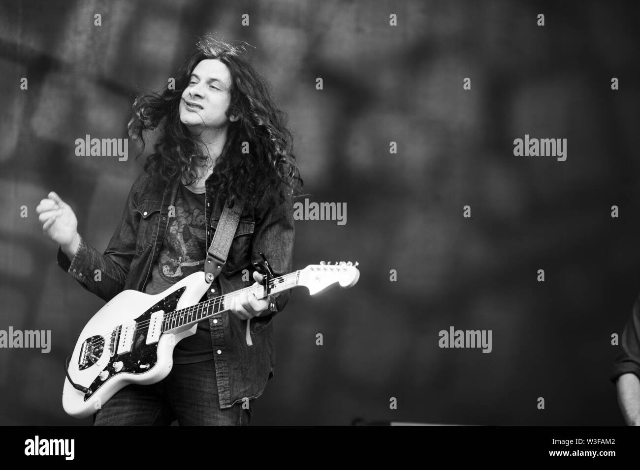 Bergen, Norway - June 15th, 2019. Kurt Vile and The Violators perform a live concert during the Norwegian music festival Bergenfest 2019 in Bergen. Here singer, songwriter and musician Kurt Vile is seen live on stage. (Photo credit: Gonzales Photo - Jarle H. Moe). - Stock Image