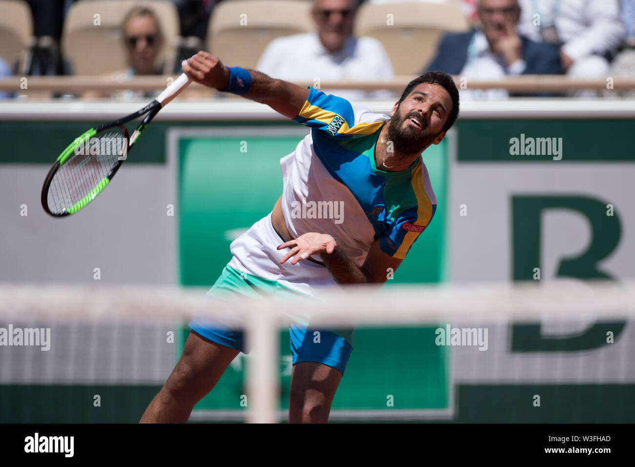 Salvatore Caruso from Italy during day 12 of French Open on June 1, 2019 in  Paris, France Stock Photo - Alamy
