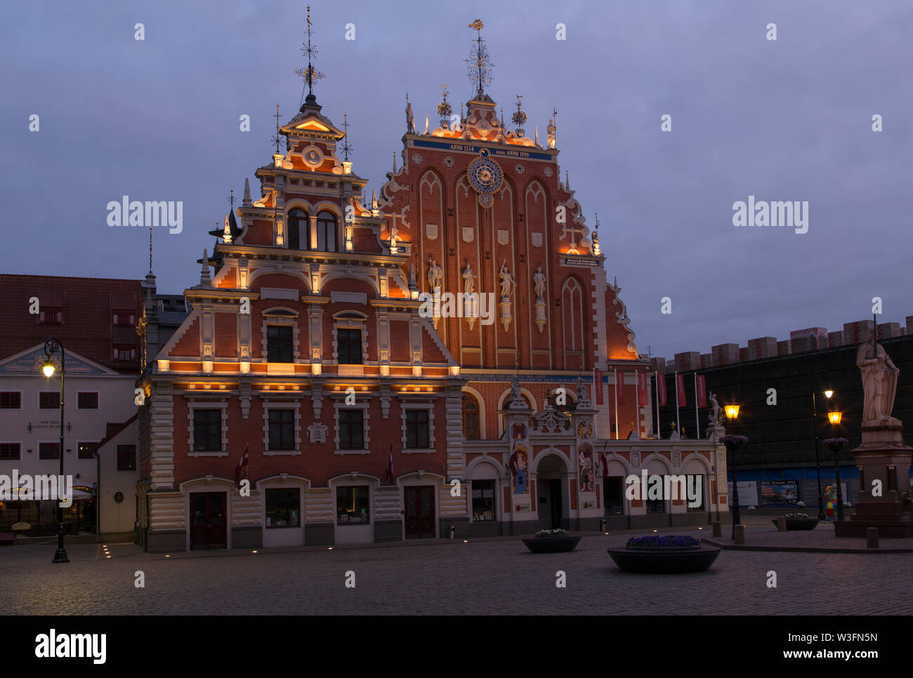House Of The Blackheads Stock Photos & House Of The