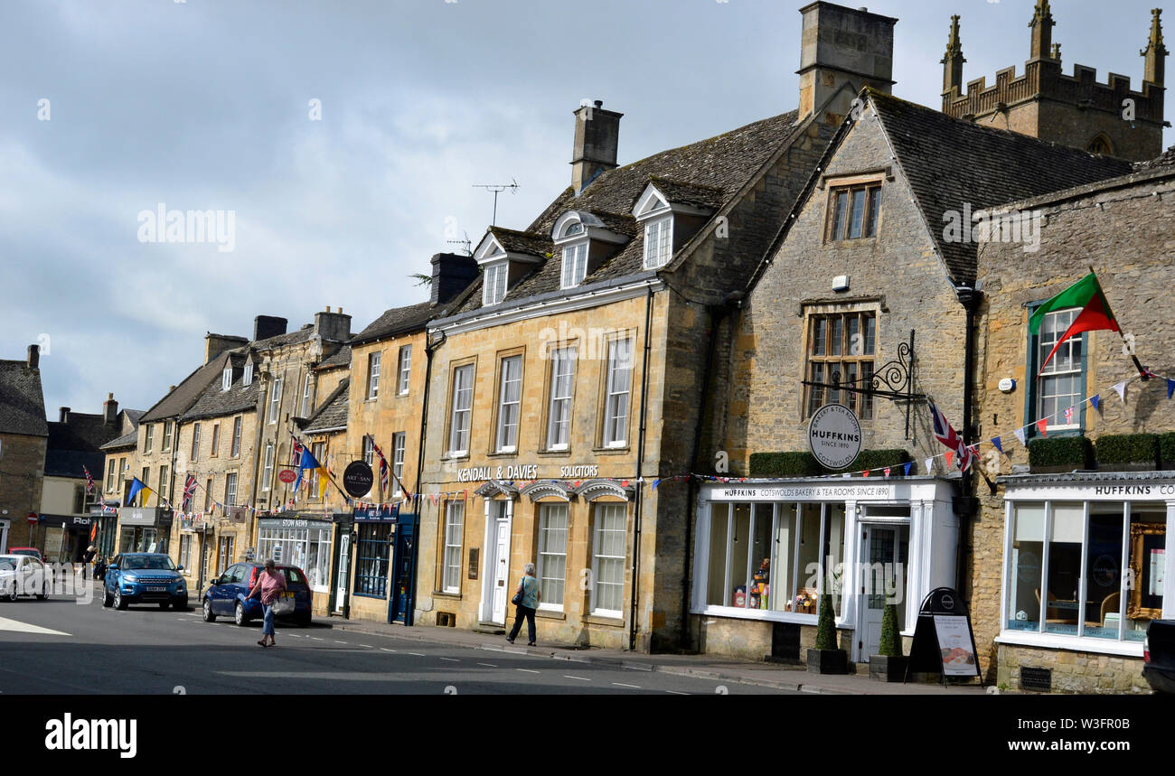 Stow-on-the-Wold, Gloucestershire, England, UK. A village in the Cotswolds. Stock Photo