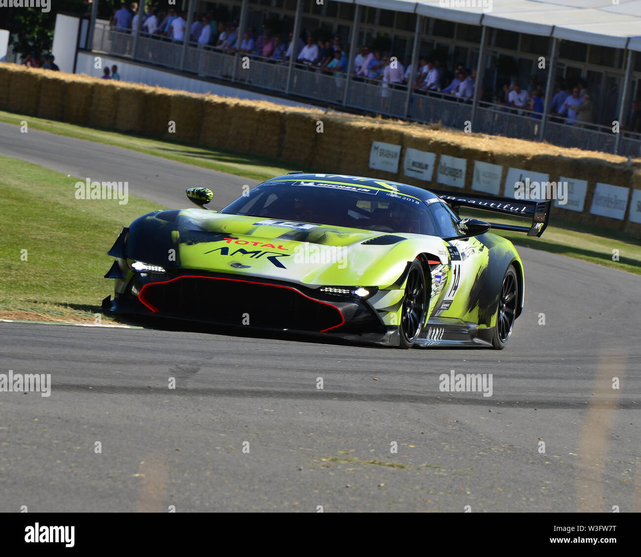 Marek Reichman, Aston Martin Vulcan AMR Pro, Goodwood Festival of Speed, 2019, Festival of Speed, Speed Kings, Motorsport's Record Breakers, July 2019 - Stock Image