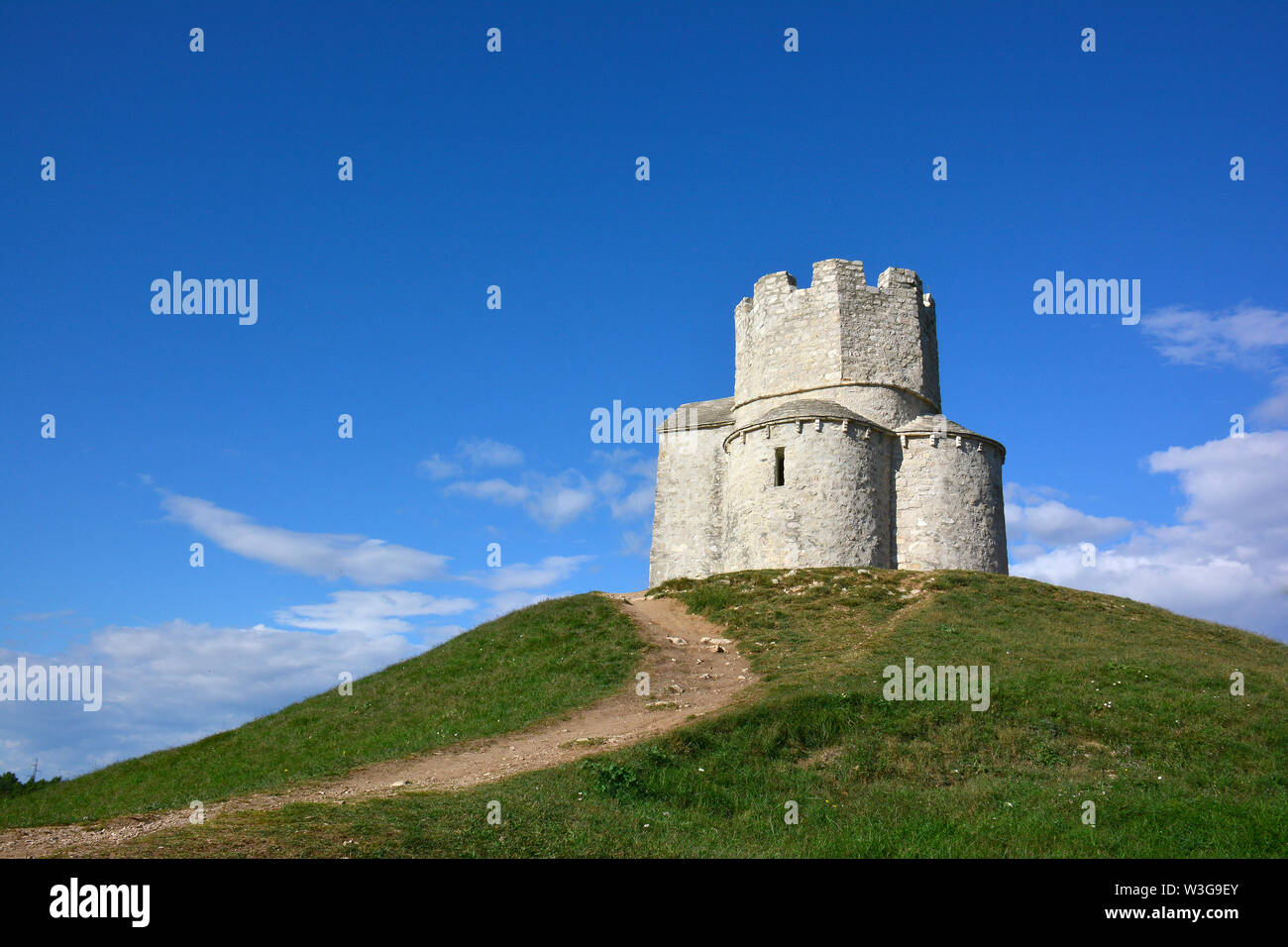 Church of Saint Nicholas, Nin, Croatia, Europe Stock Photo