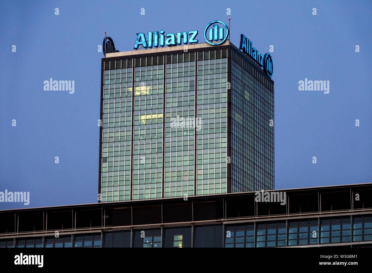 Berlin Allianz Zentrale - Stock Image